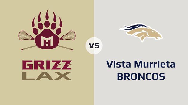 MHHS Grizzlies vs. Vista Murrieta Broncos