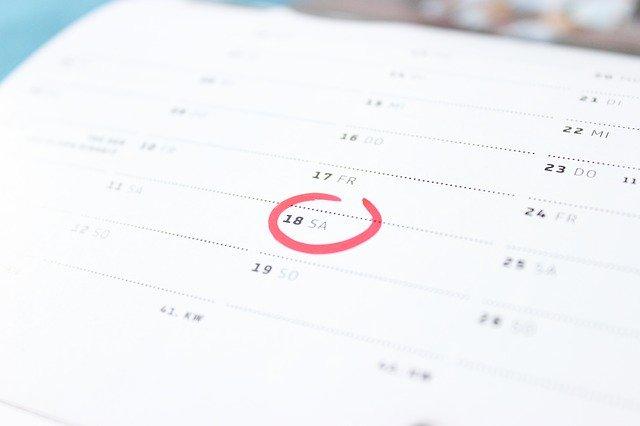 英語の日付の書き方