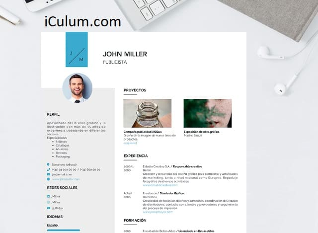 ejemplo curriculum gratis iculum