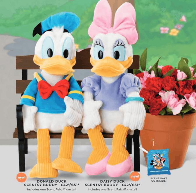 Donald Duck & Daisy Duck Scentsy Buddys - Disney & Scentsy
