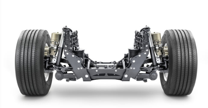 Как работает система подвески в грузовых автомобилях?