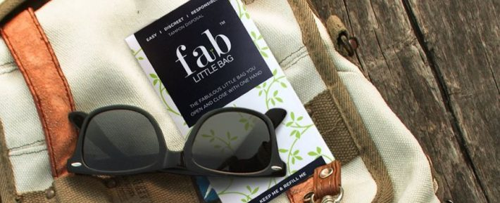 FabLittleBag with sunglasses