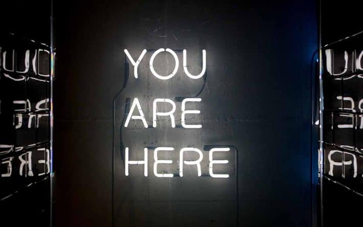 You Are Here - Being in the Moment is a Growth Mindset Quality