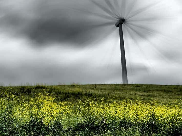 Green Energy Switch Landscape