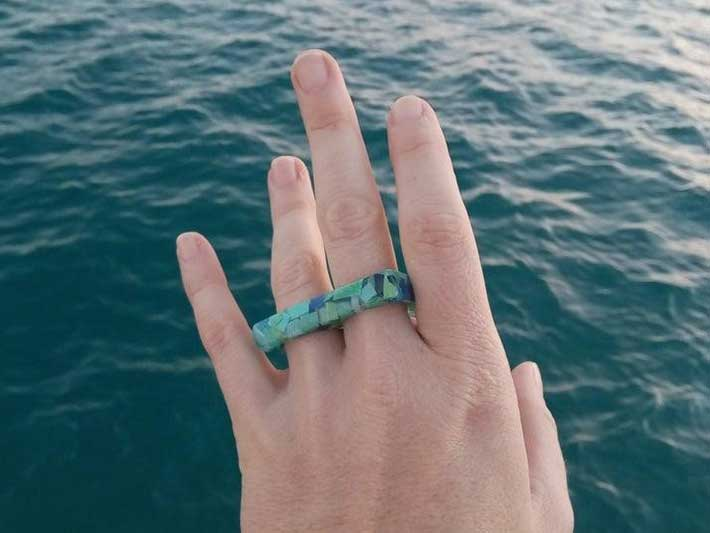 La Garza Ocean Plastic Jewelry