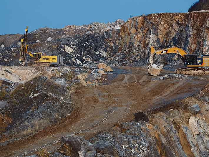 Mining minerals for our technology