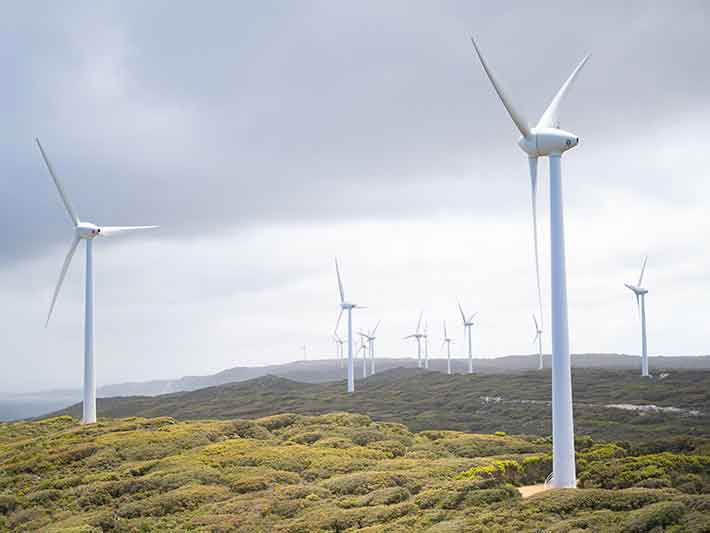 Land use is a challenge for renewable energy