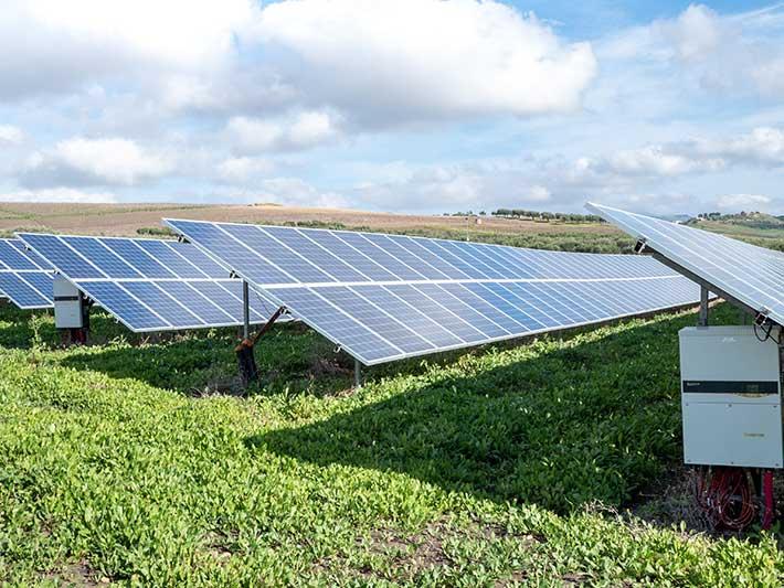 Growth in solar energy