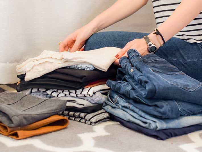Where to start when minimizing your wardrobe