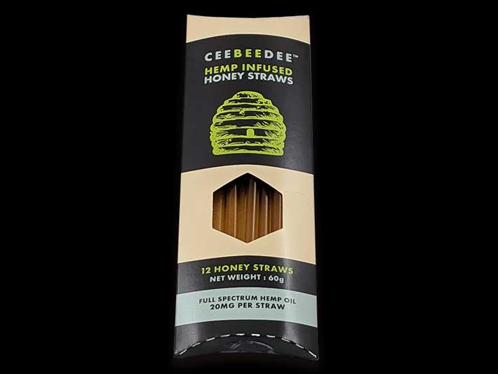 Ceebeebee honey infused straws