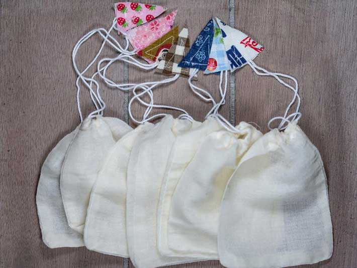 Eco Reusable Tea Bags