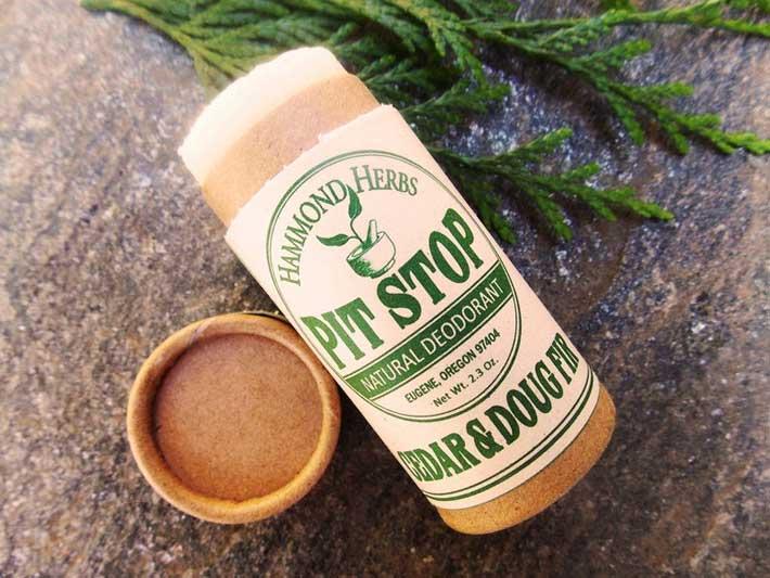 Hammond Herbs Pit Stop Natural Zero Waste Deodorant