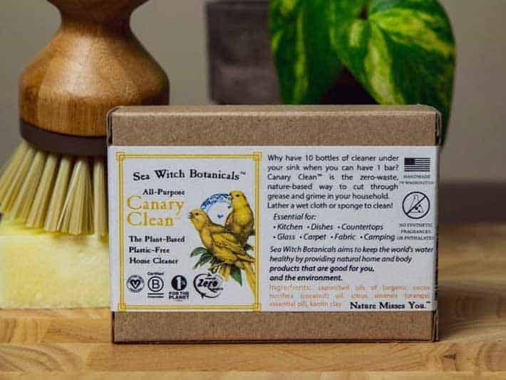 Sea Witch Botanicals Zero Waste Dish Soap Bar