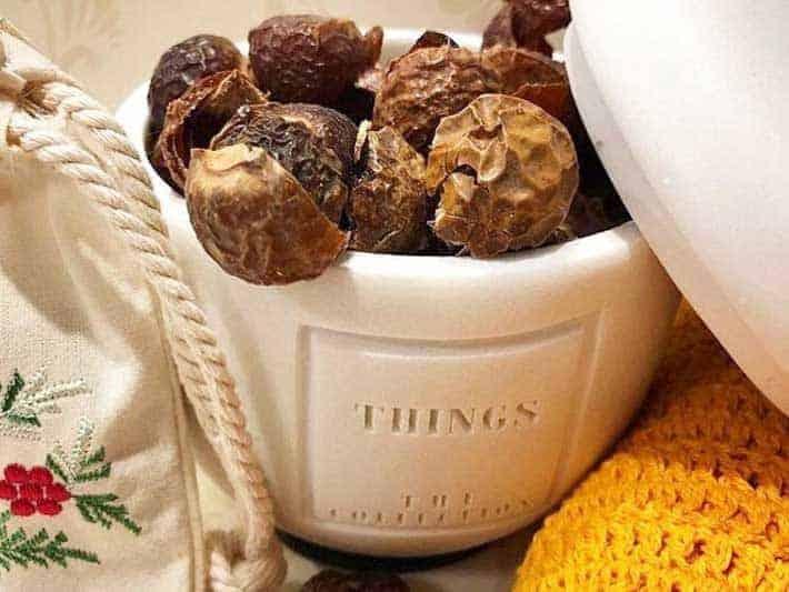 White Dormous Soap Nuts