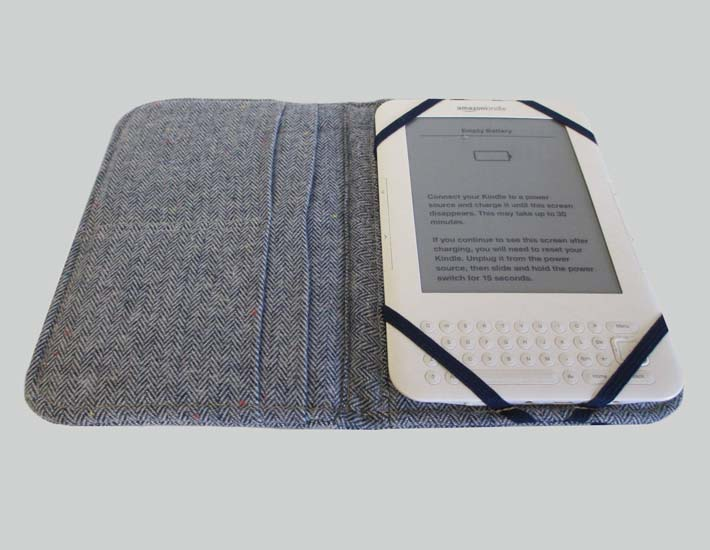 Plastic free kindle cover