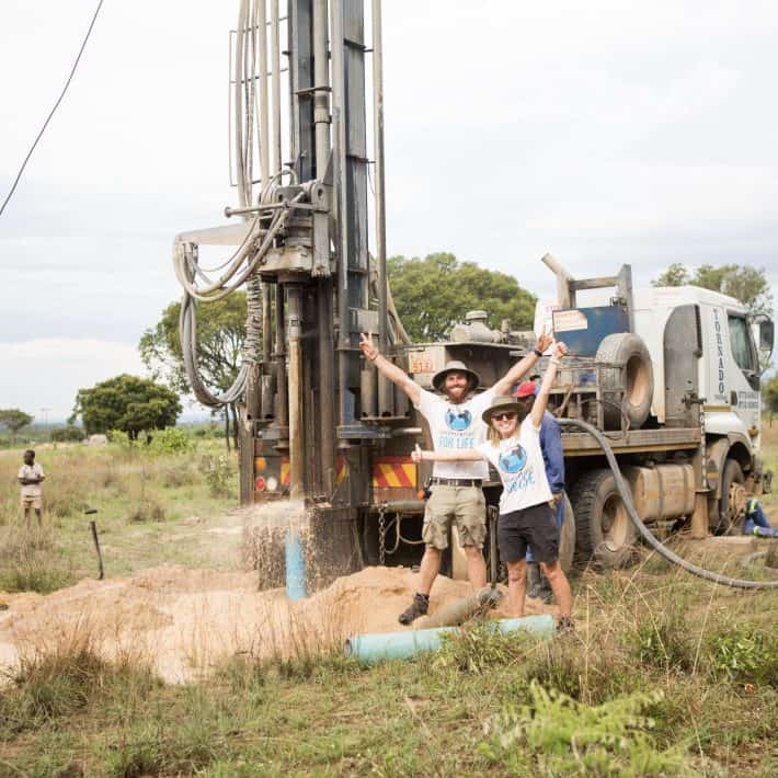 Opportunities For Life Water bore drilling in Africa