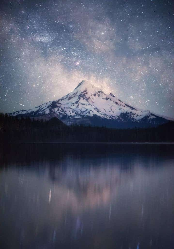 Lost Lake, with Mt. Hood in the background.