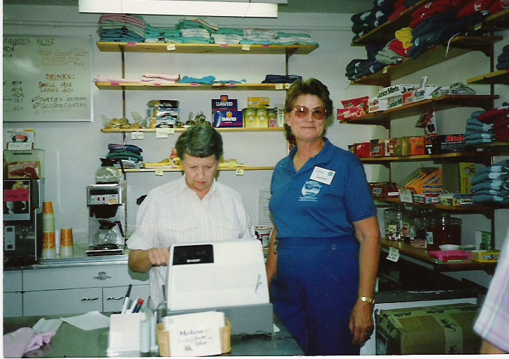 First snack bar – 1986-87