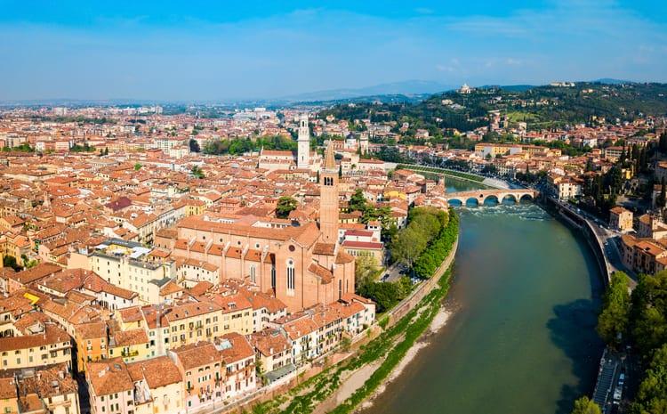 Ilcentro storico di Verona