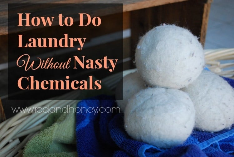 How to Do Laundry Without Nasty Chemicals (only natural laundry detergent!)