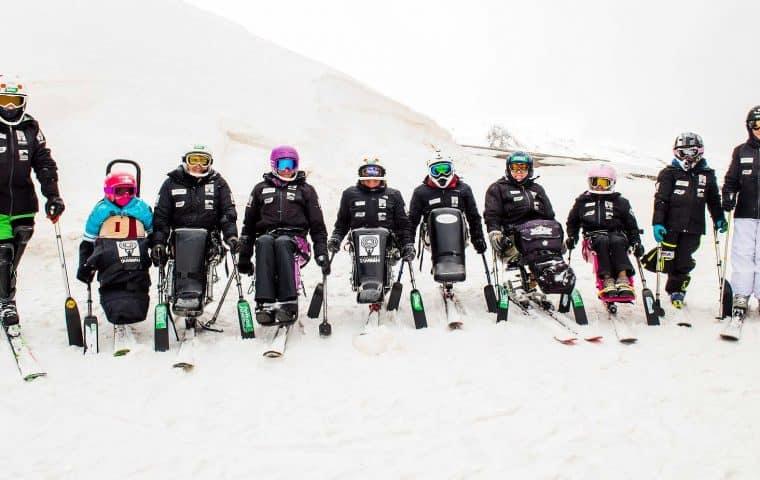 Equipo de Competición de Esquí Adaptado de la Fundación También temporada 2018-2019