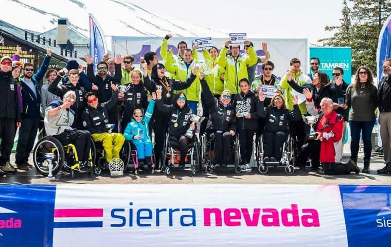 13º Trofeo Santiveri Sierra Nevada de esquí alpino adaptado