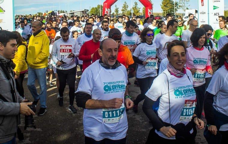 Salida de la 7ª Carrera Popular Madrid También Solidario