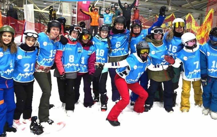 Gran actuación del Equipo de esquí de la Fundación También en la Copa de Europa