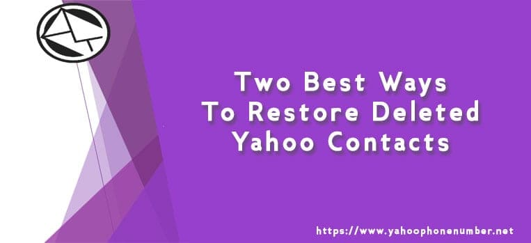 Two Best Ways to Restore Deleted Yahoo Contacts