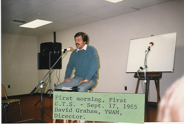 First Base Director & First DTS (September 1985)