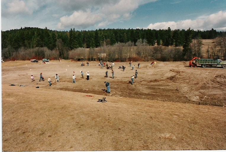 New Field Was Landscaped – June 1987