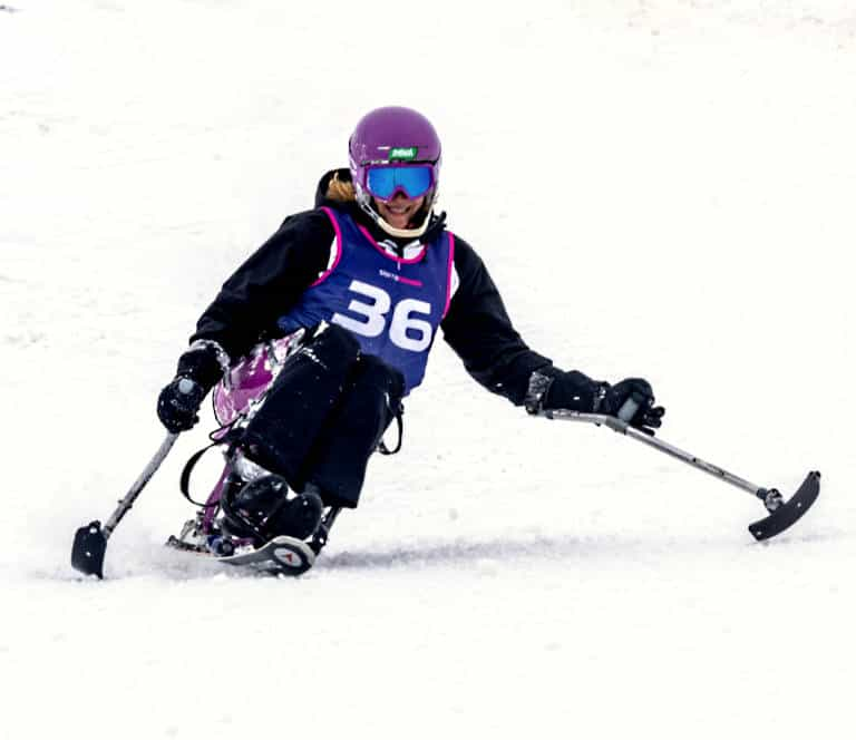 Copa de España Inclusiva-Adaptada de Esquí Alpino marzo 2021 en Sierra Nevada