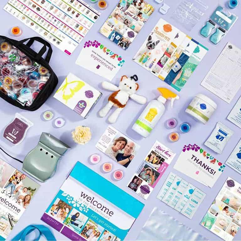 UK & Europe 2020 Standard Scentsy Starter Kit Image