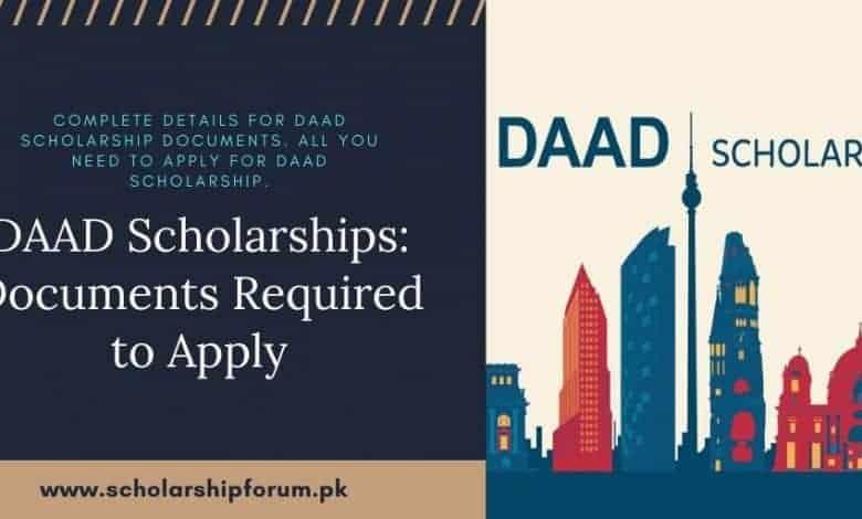 DAAD Scholarship Documents