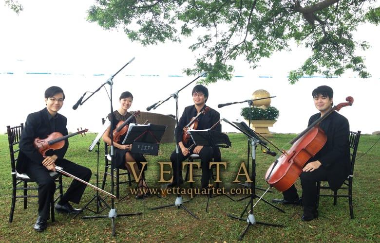 String Quartet for Solemnisation at Shangri-La Rasa Sentosa