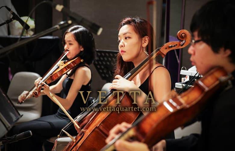 string quartet live band singapore