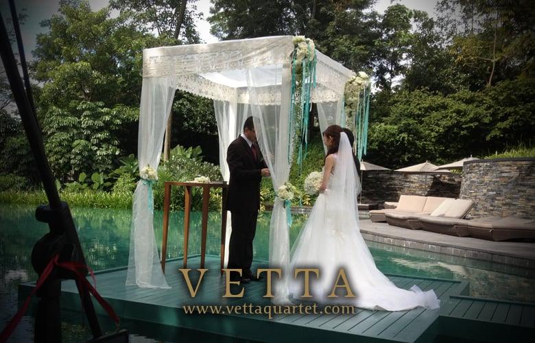 Wedding Singapore - String Quartet - Capella