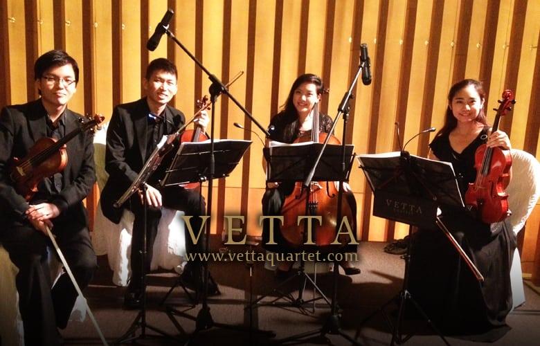 Capella Wedding Performance - Music quartet