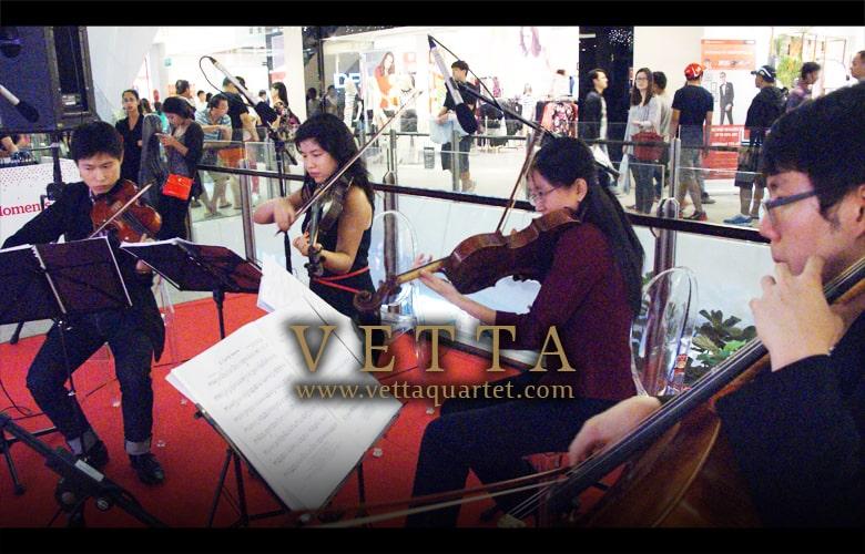 Music Singapore - Christmas at JEM - String Quartet
