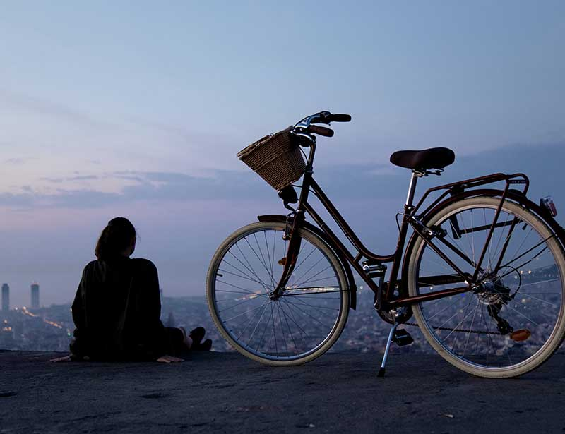 Cycling can reduce your carbon footprint