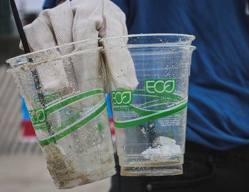 Compostable eco-cups - greenwashing or not?