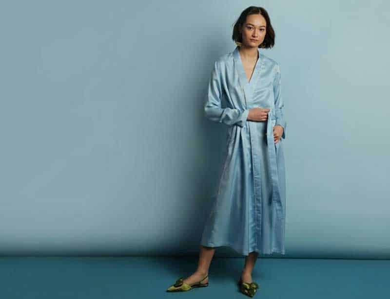 Sustainable silk from the ethical silk company