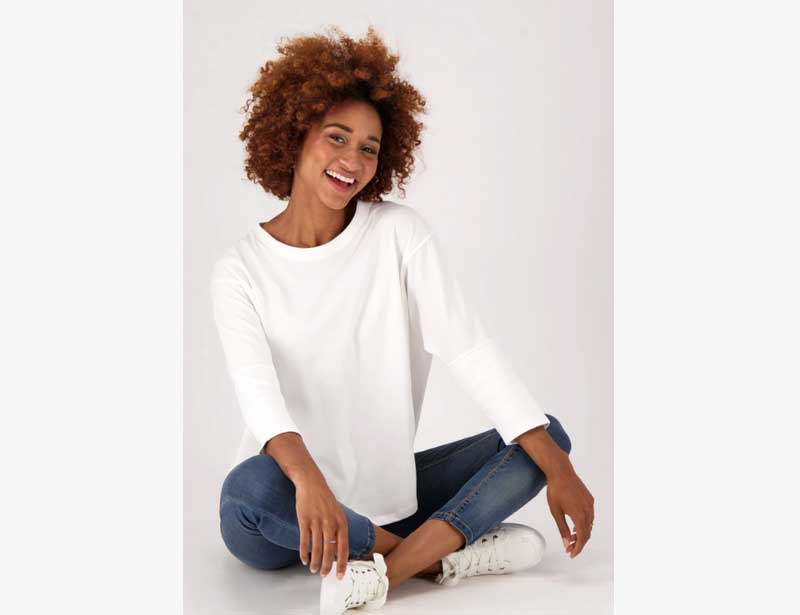 The Good Tee Eco Batwing Ethical T Shirt