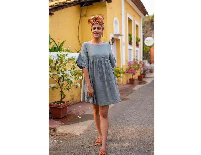 No Nasties Sustainable Fashion Brand Scoop Dress
