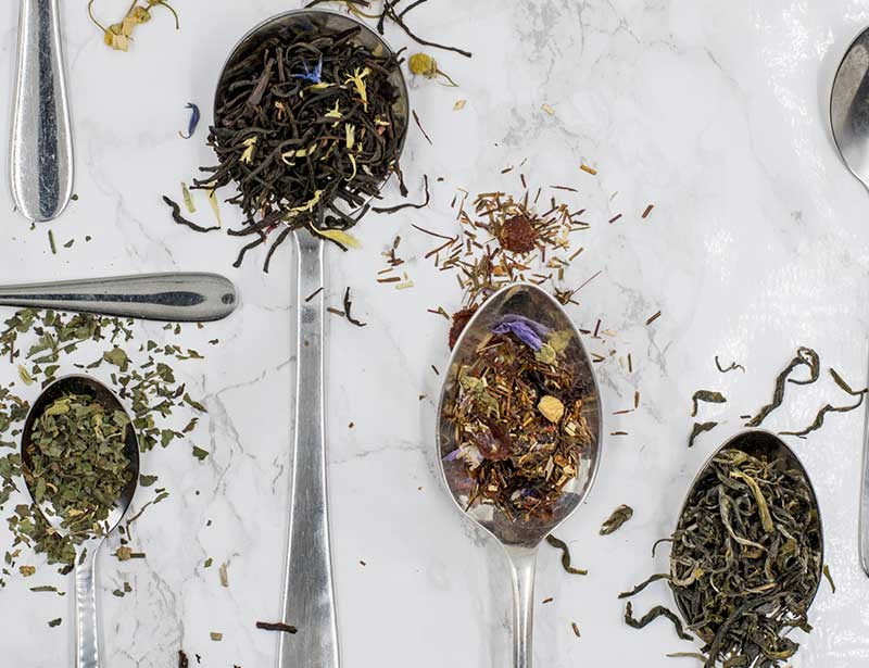 Tea leaves are compostable. Tea bags might not be if they contain plastic