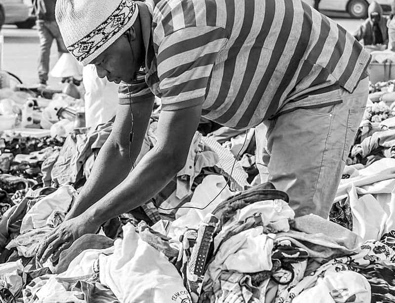 Fast fashion facts - producing a glut of clothing