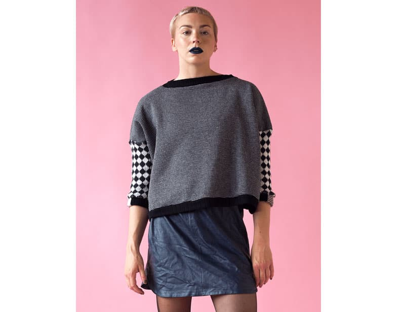 Antiform upcycled fashion from reclaimed materials