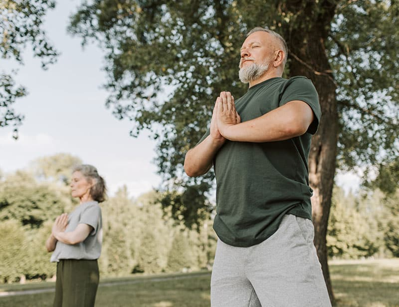 Self care breathing exercises