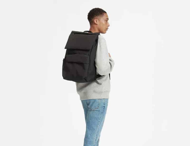 Everlane sustainable backpacks