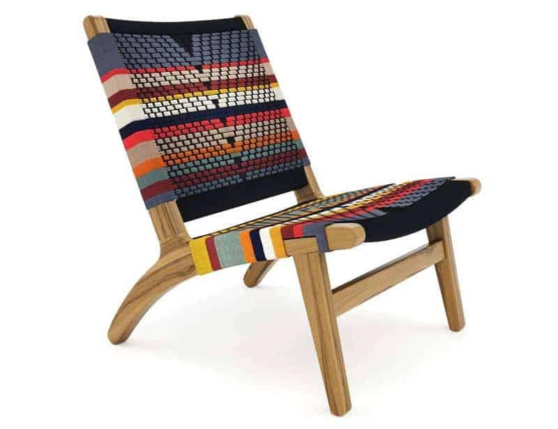 Masaya & Co handwoven sustainable chair